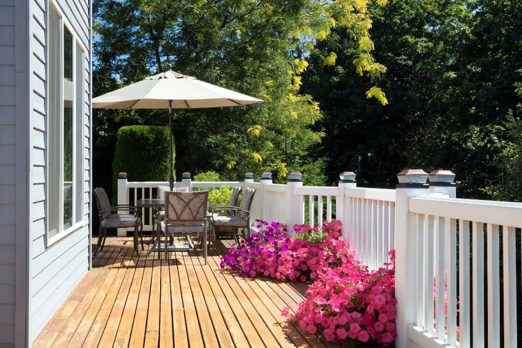 deck staining contractor Boston MA
